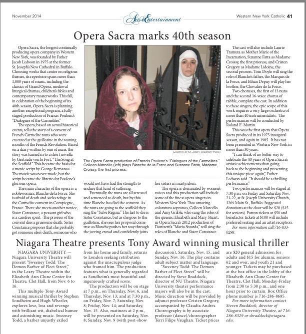 Opera: Carmelites Press
