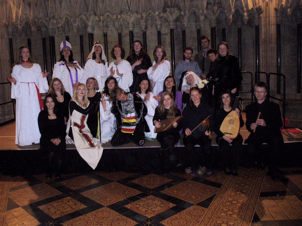Ordo Virtutum in York Minster
