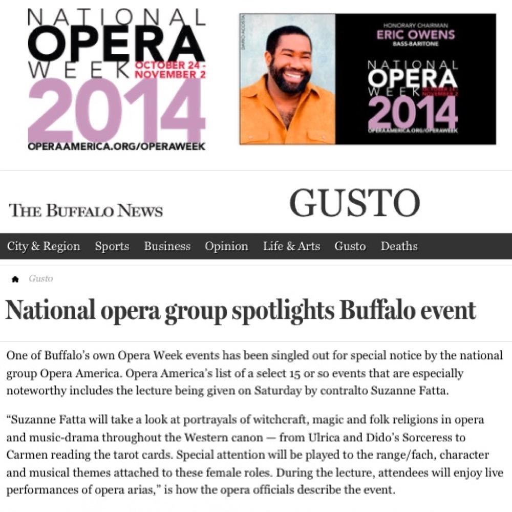Opera Week Press!