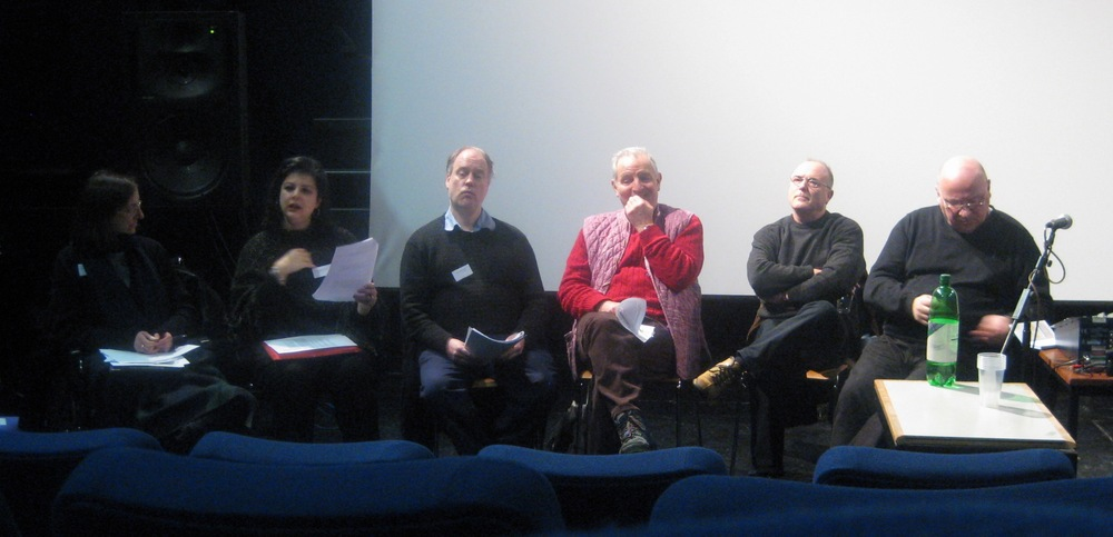 Chairing a York Conference with Gavin Bryars