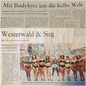 """With BodyLove to the whole world!"" Siegen, Germany"