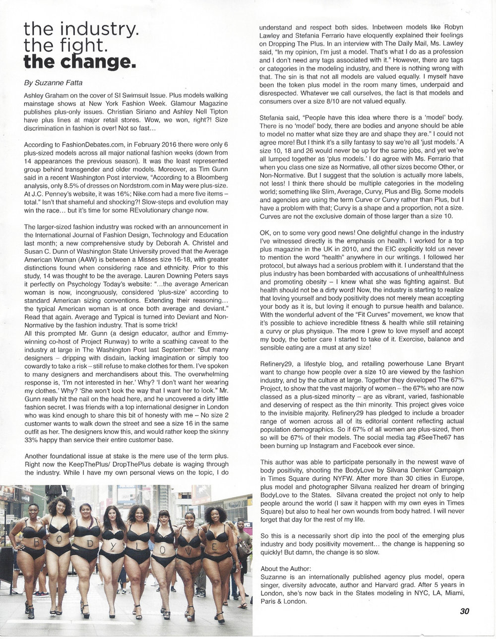 Mirabella Magazine article