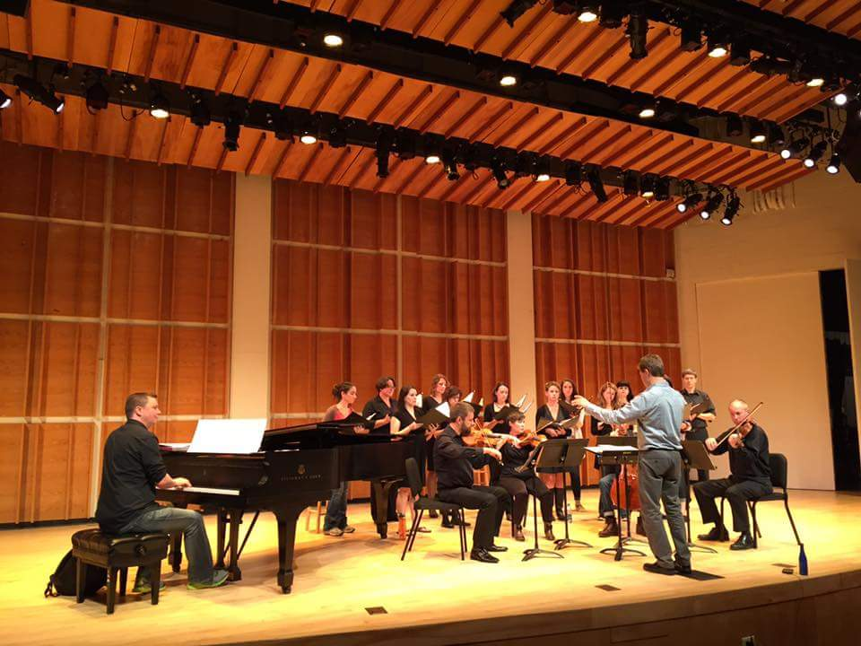 Vocalis at Merkin Hall with Ola Gjeilo
