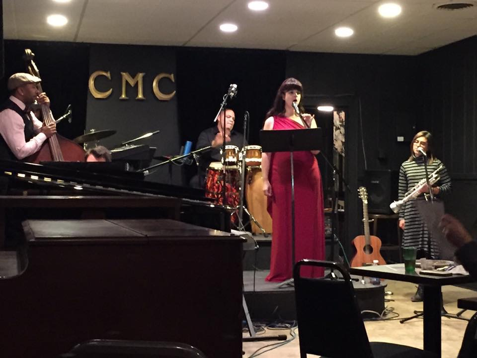 CD release party and live recording, Colored Musicians Club