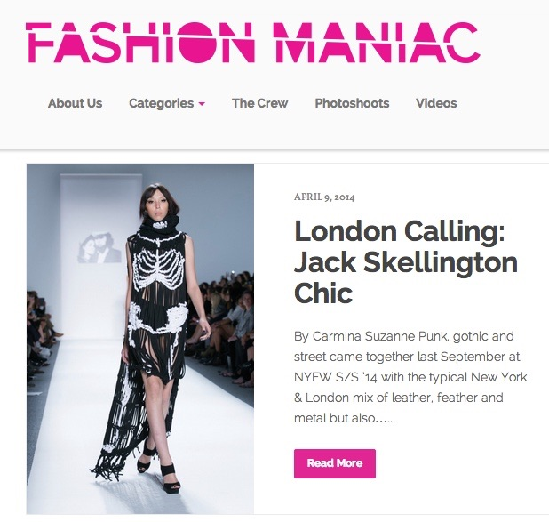 Fashion Maniac fashion week review