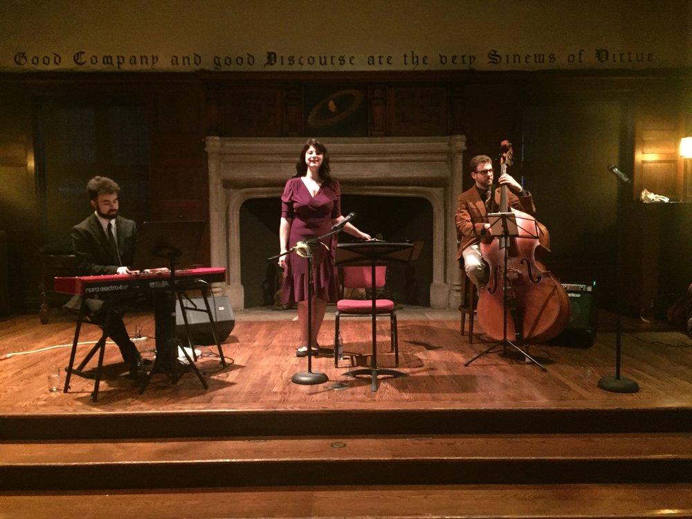 Mardi Grad jazz trio