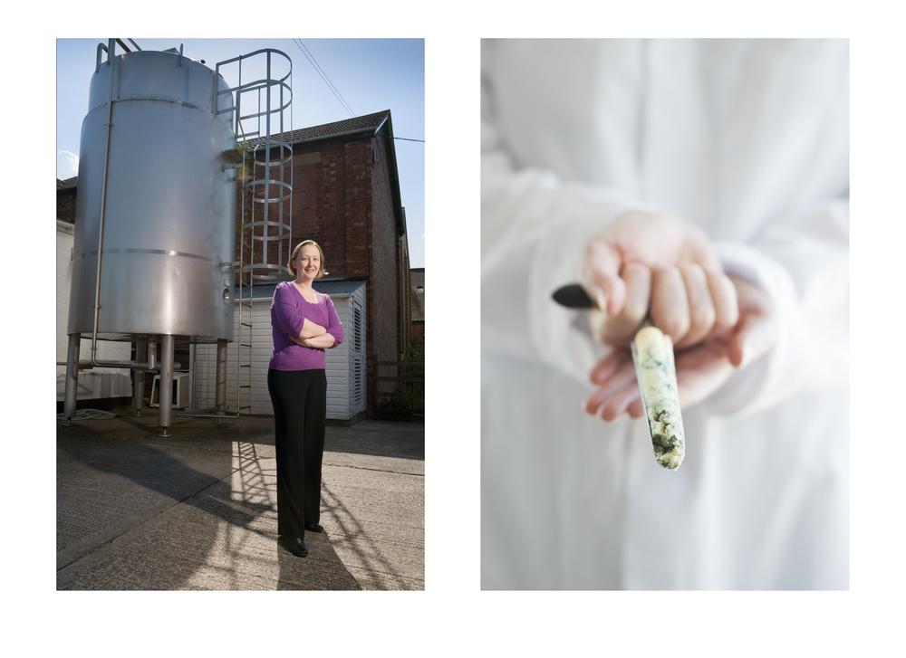 Sarah Tyler, Quality Assurance Manager,  Colston Bassett Dairy Ltd (Stilton Cheese)