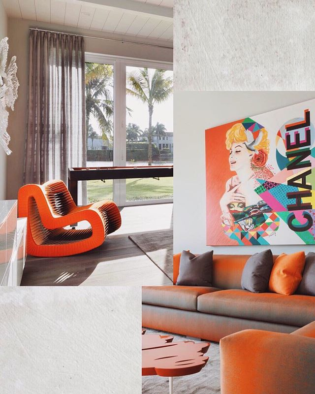 Playful pops of extreme color are on the up! Are you bold enough to embrace electric tones like lime green, citrus orange and bright yellow? We think you are! Schedule a consultation with us and bring a bit of bold into your home. 💥💥 #JulieCDoesntMessAround #DistrictDesignNashville - Photo from one of our beautiful projects in Naples, FL! - - #interiordesign #interiordesigner #nashville #nashvilletn #nashvilleinteriors #nashvilleinteriordesign #nashvilleinteriordesigner #interiorinspiration #interiorinspo