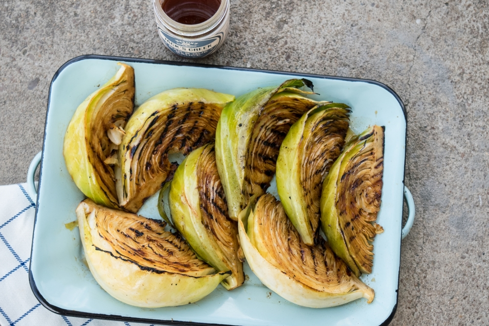 BBQ Grilled Cabbage Recipe from Martin's Bar-B-Que Joint