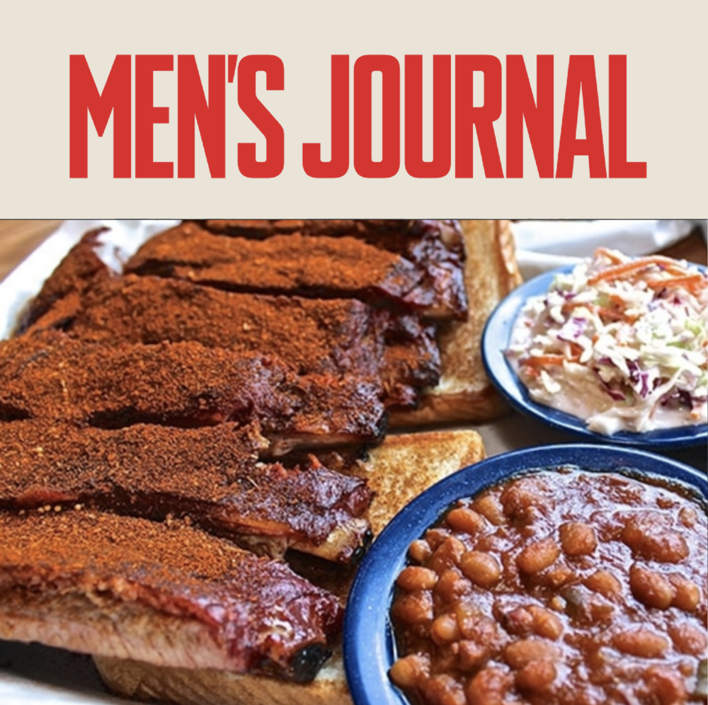 Martin's Bar-B-Que Ribs featured in Men's Journal