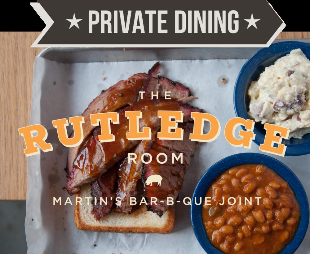 Martin's Barbeque Nashville Private Dinning
