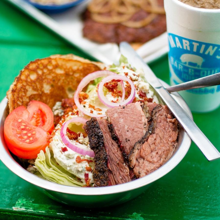 Martin's BBQ | Brisket Wedge Salad