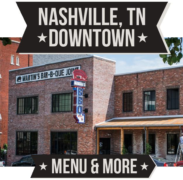 Martin's BBQ Downtown Nashville