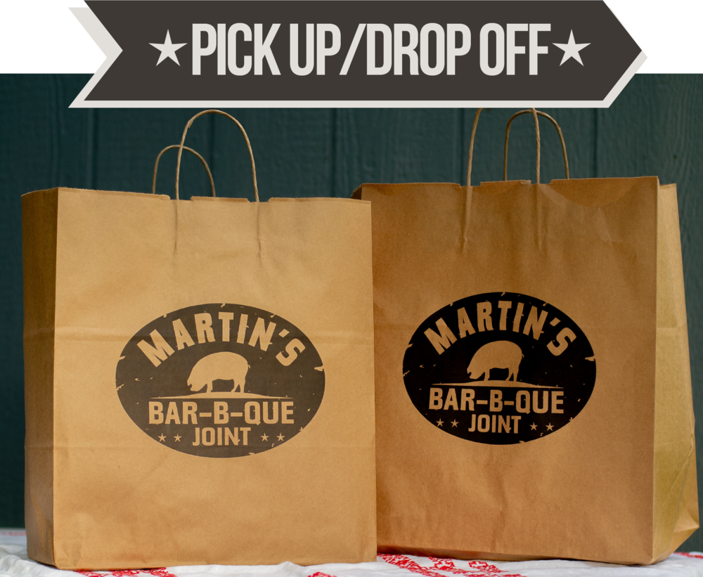 Martin's BBQ Pick Up and Drop Off