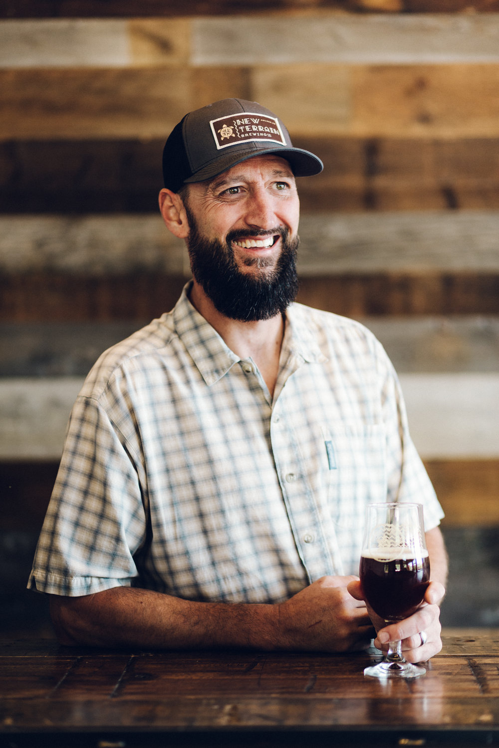 Mike Helms Director of Accounts . Taproom Manager