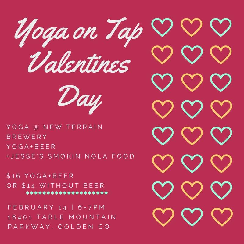 Yoga On Tap Valentine S Day Edition With Suzanne New Terrain