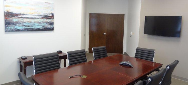 office conference room. We Have The Best Meeting Rooms In Huntersville, NC - Where EVERYTHING Is  Included! Office Conference Room