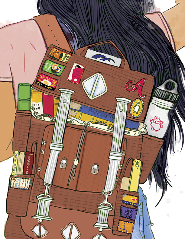 Book Bag - A part of my Horizon Next Door series. Digital.