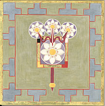 The mandala of Para, highest goddess of the Trika tradition.