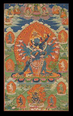 Hevajra with consort