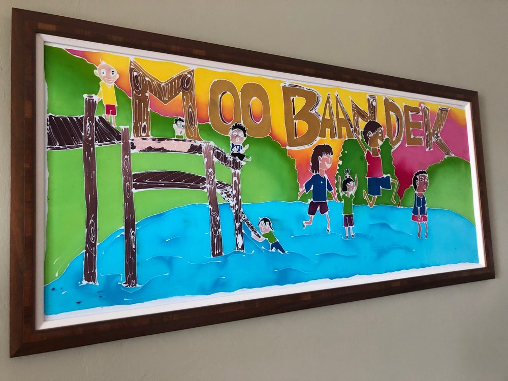 Enjoy this original batik from youthful artists in Thailand!