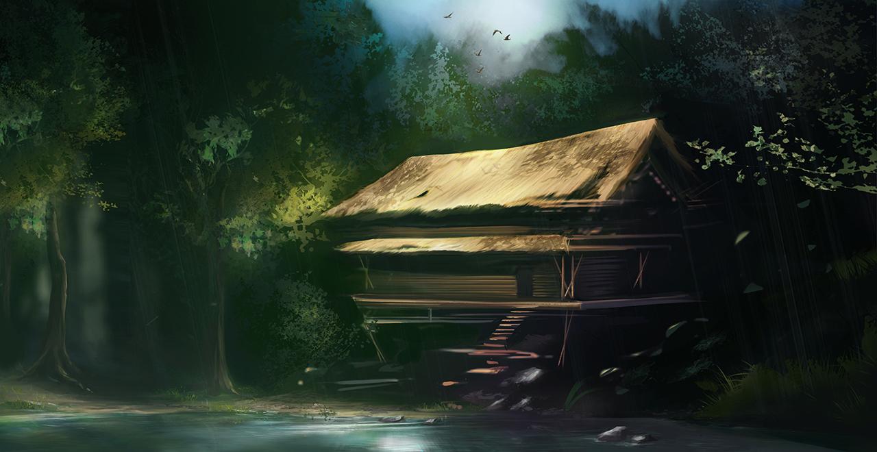 Island Cottage Concept