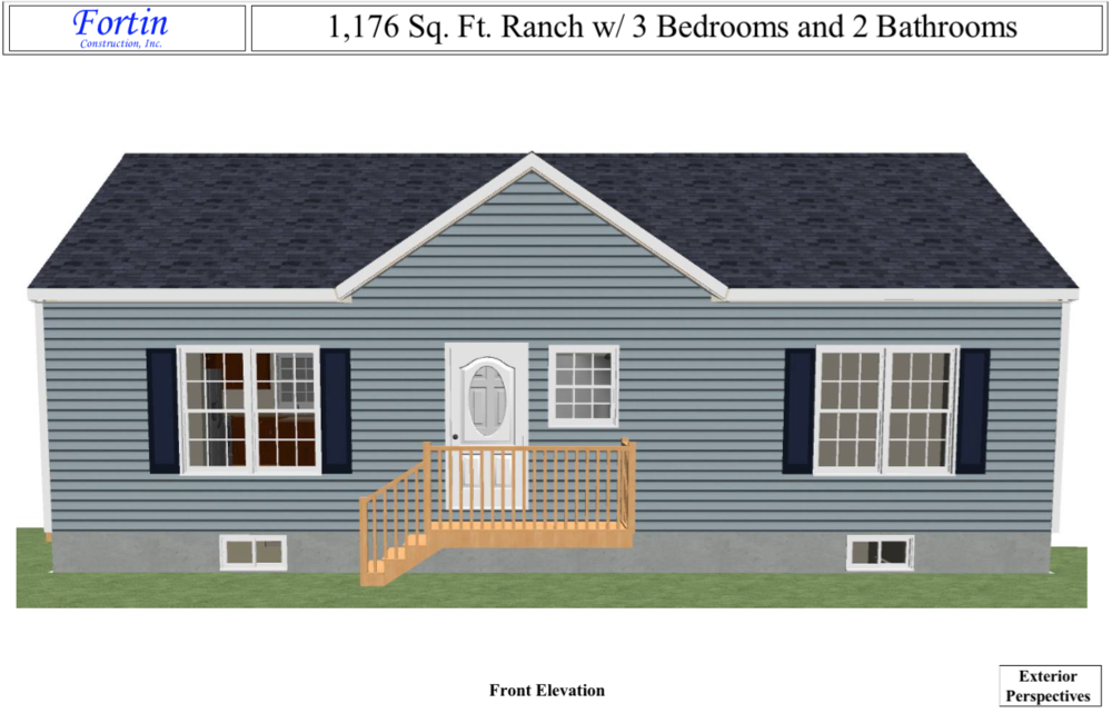Ranch style house plans maine for Maine home plans