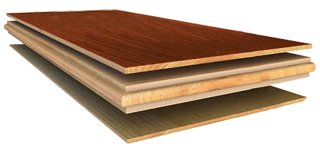 Engineered Hardwood Flooring Structure