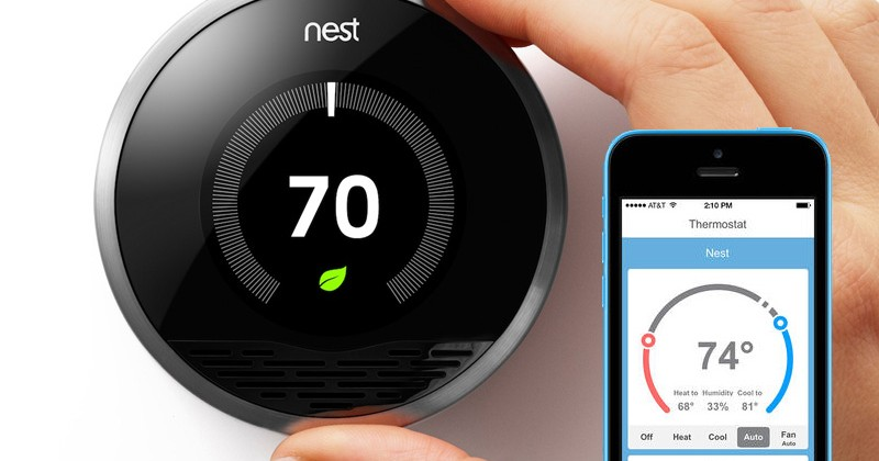 Upgrades to a home that utilize technology to make the home more eco-friendly, such as the Nest Thermostat seen above, appeal to potential millennial buyers.