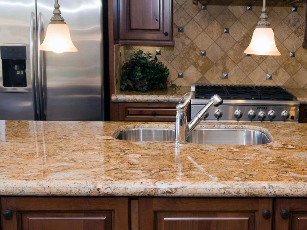 Granite countertops remain the most popular option for kitchen countertops due to their aesthetic and functional appeal.