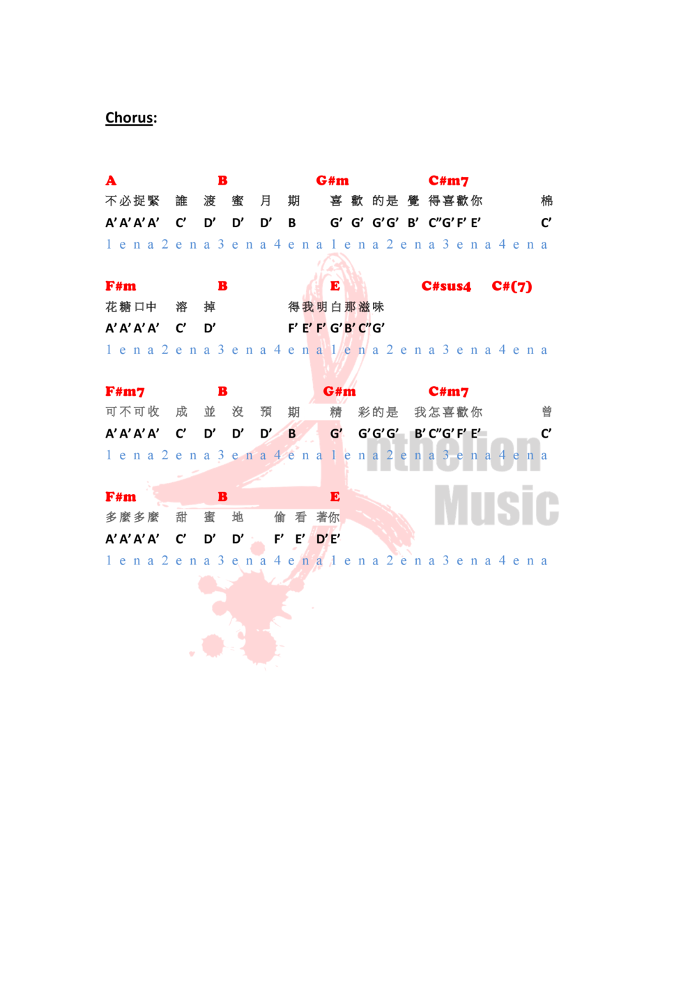 Anthelion Music 譜 template (喜歡喜歡你) E key-1.png