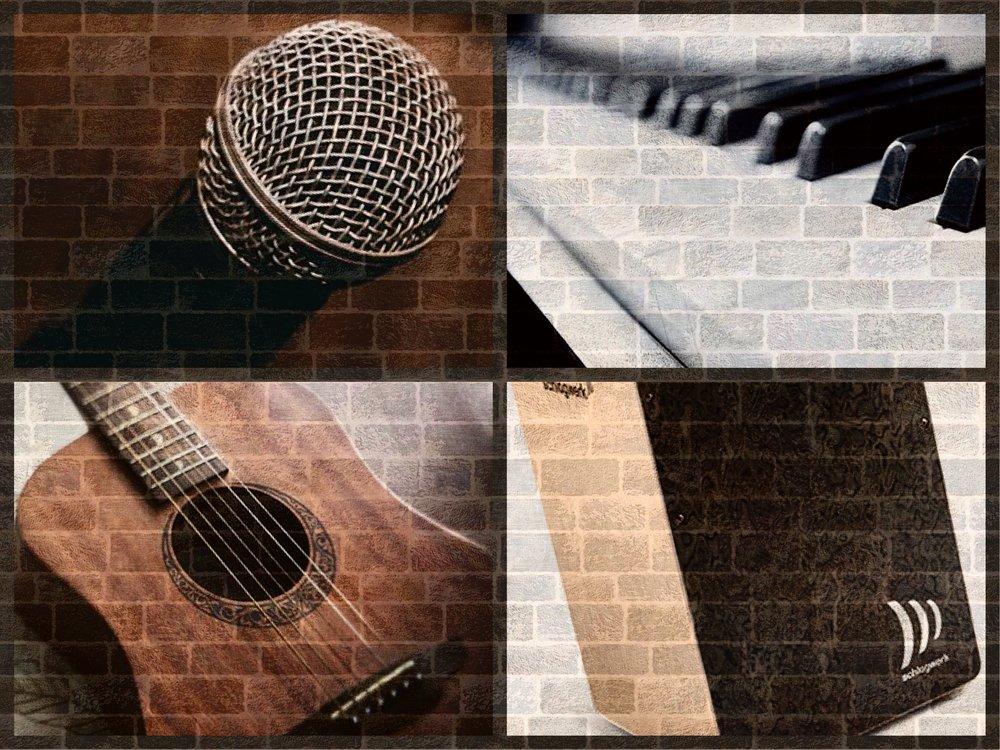 輕樂隊組合 - Suggested Combination 1- Vocal 主音- Digital Piano 數碼鋼琴- Acoustic Guitar 木結他- Cajon 鼓箱
