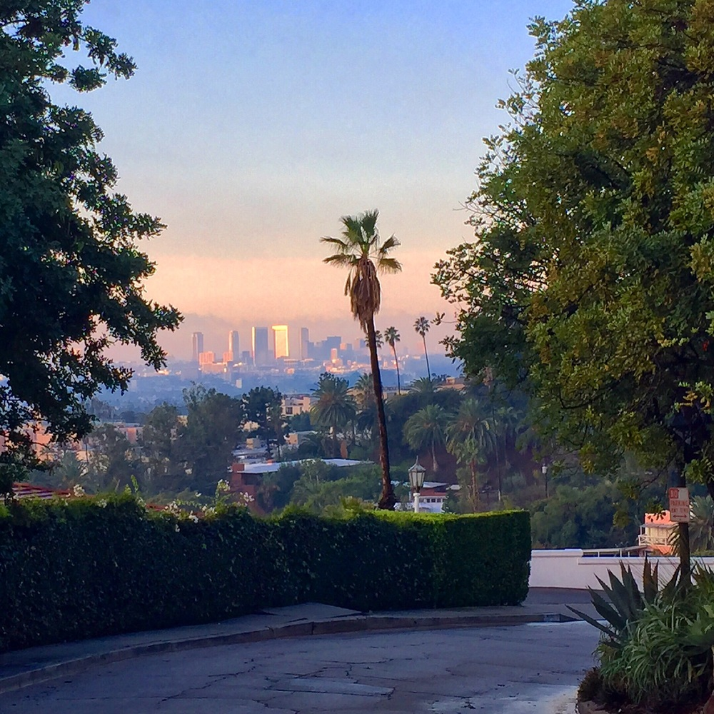 Los Angeles, a vast source of inspiration for us.