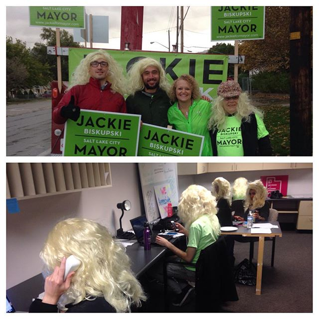 We are ready. Get out and #vote #timeforjackie