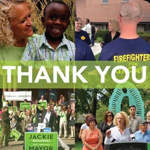 I am deeply humbled by the support and trust I have received from the people of Salt Lake City. Our message is clearly resonating with the voters, but we must wait until the final vote is certified on November 17th to claim victory. Thank you to everyone who has supported this campaign—I am confident that in the end we will prevail. #timeforjackie