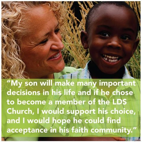 Like so many in our city and state I have spent the last day coming to terms with the recent policy announcement from the LDS Church. As a mother I have concern for all children in our community, but I hold onto hope that this is not the end of the conversation. Read my full statement -  http://bit.ly/1WEaTap