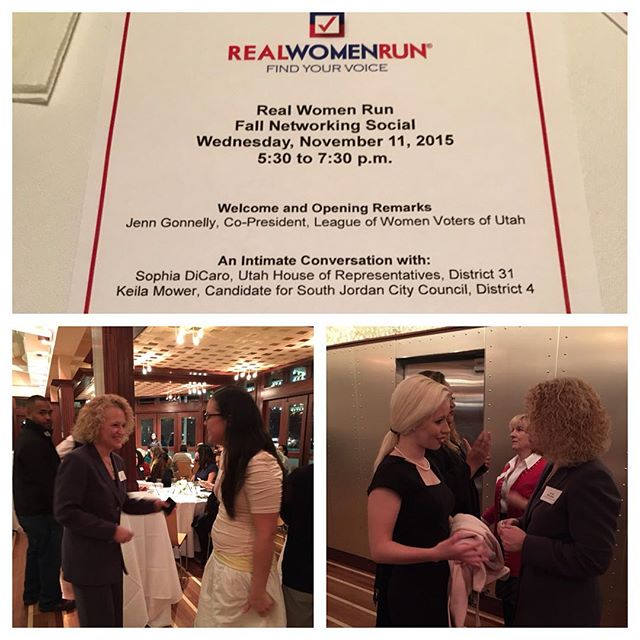 What can women do in public life? Anything. I am proud to have been involved with Real Women Run from the beginning. I wouldn't have missed tonight for anything--what a way to top off an amazing week!