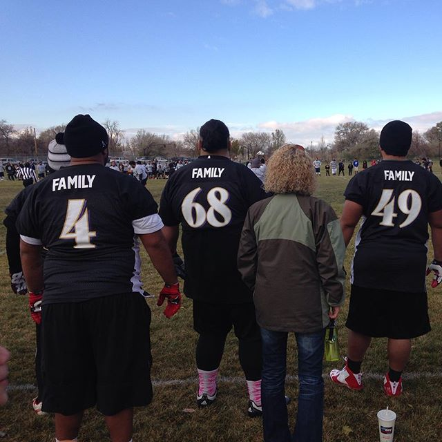 What #Thanksgiving is all about. #football #family #SLC