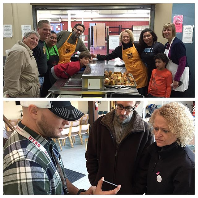 This morning my Deputy Chief of Staff, David Litvack and I had the opportunity to serve the homeless and receive a tour of the facilities at St. Vincent de Paul Soup Kitchen. We first met years ago in the same kitchen peeling carrots!  So many people in our community are working to make positive change in our community and they deserve our support!