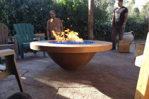 Concrete Creations Manufacturing giant concrete pots, planters and fountains, fire bowls. We crate and  ship our products all over, and we do it all in house. Family owned and operated company in California since 1994, and previously in Israel.