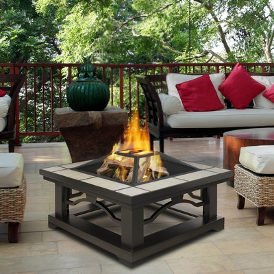 Real Flame Real Flame is a leading wholesaler of fireplaces for use indoors and out. All of our designs are exclusive. Our outdoor line will add beauty, warmth and ambience to any setting.