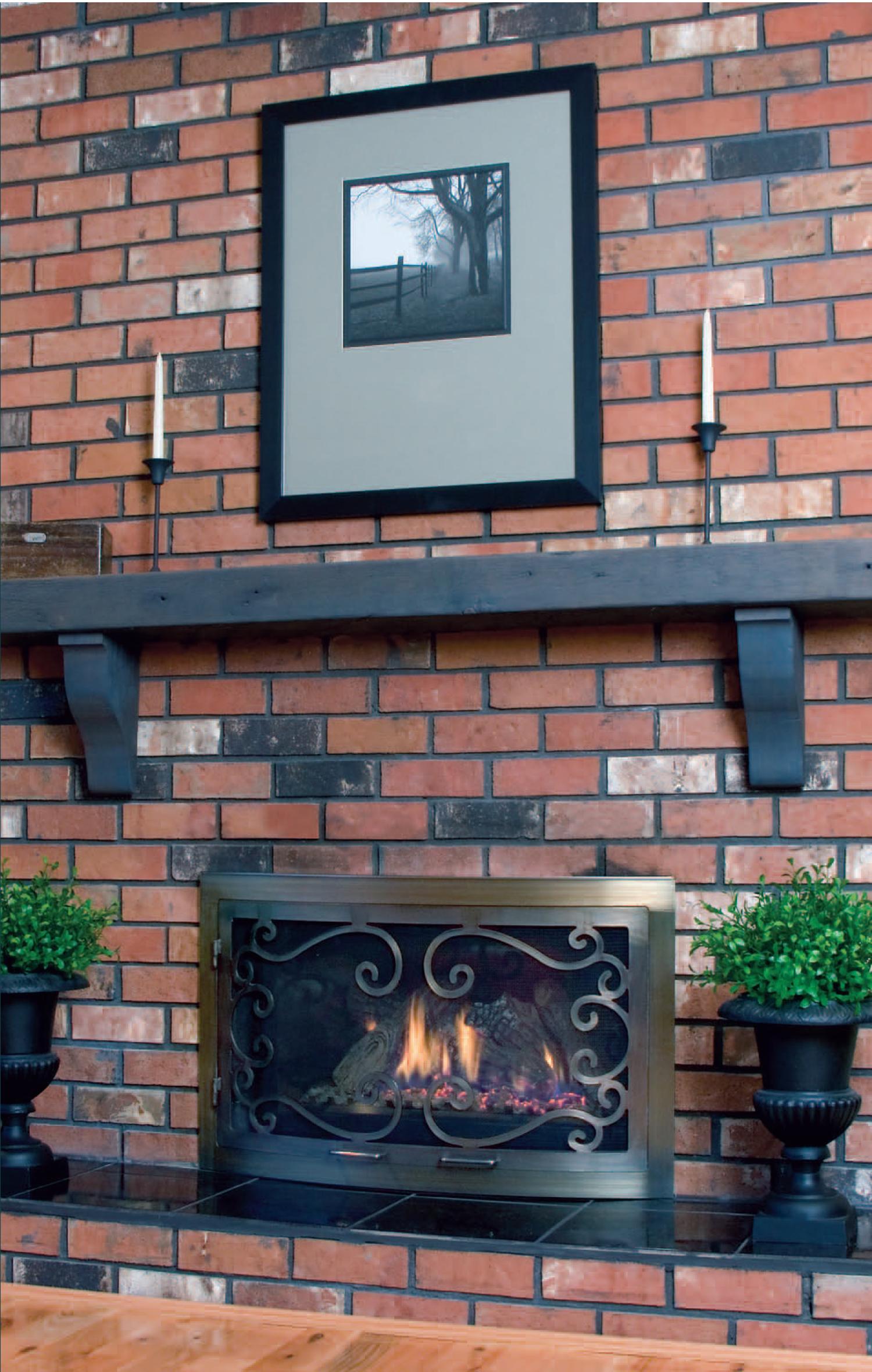 fireplace doors u2014 sag harbor fireplace