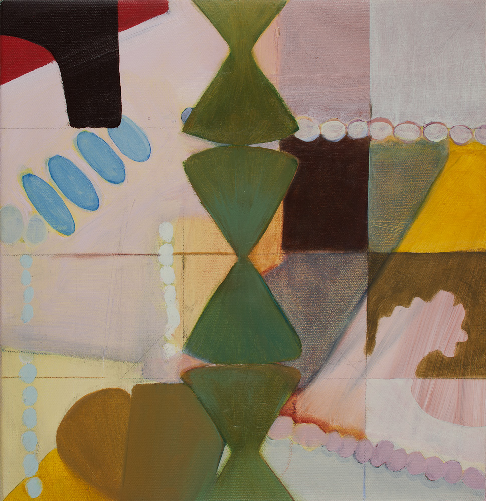 """Latitude, 2012, oil, linen, wood, 12 x 12"""""""