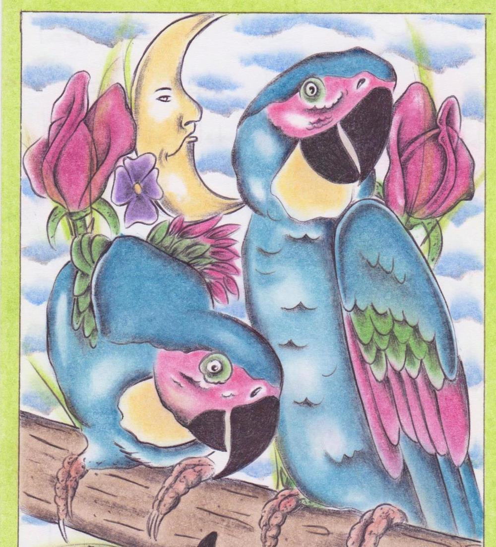 Parrots by Gilbert R. Loza 001aa.jpg