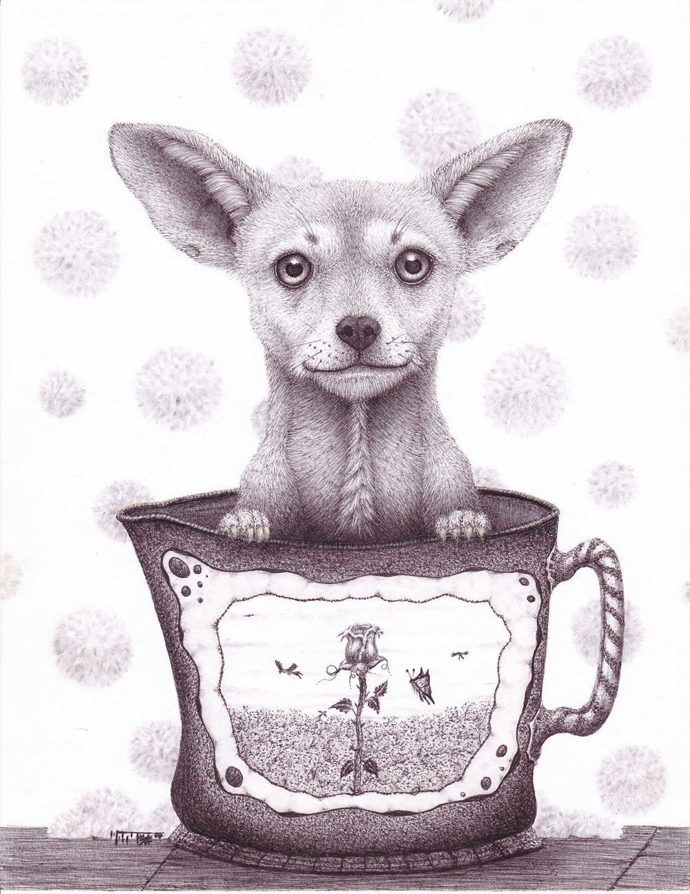 Chihua in tea cup by Brad Hart   -IMG_0013.jpg