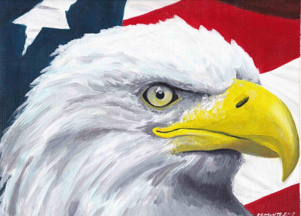 Eagle painting by Galvan Monte.jpg