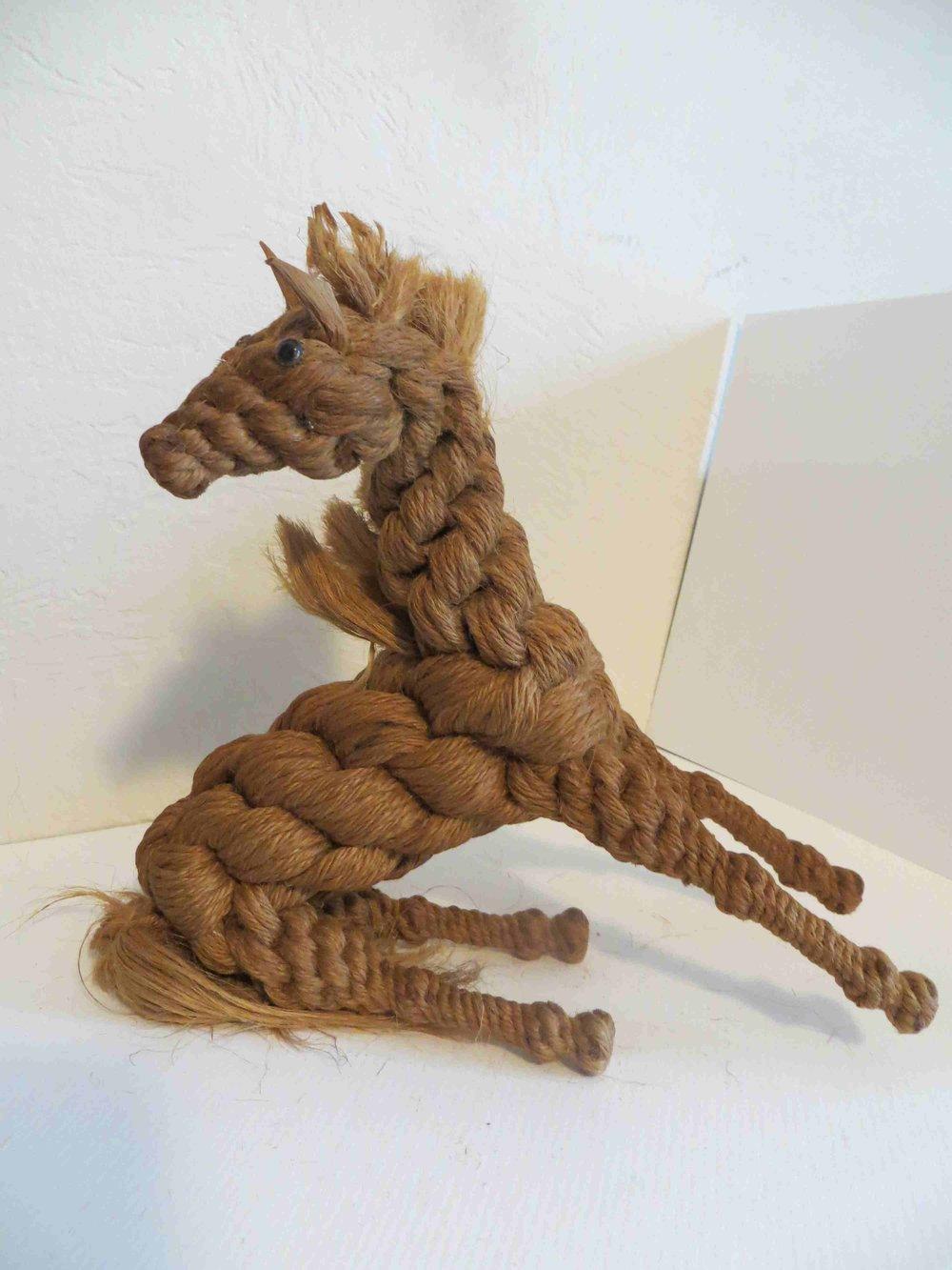 Twine Horse sculpture by Raiford FL INmate ARtist-022.jpg