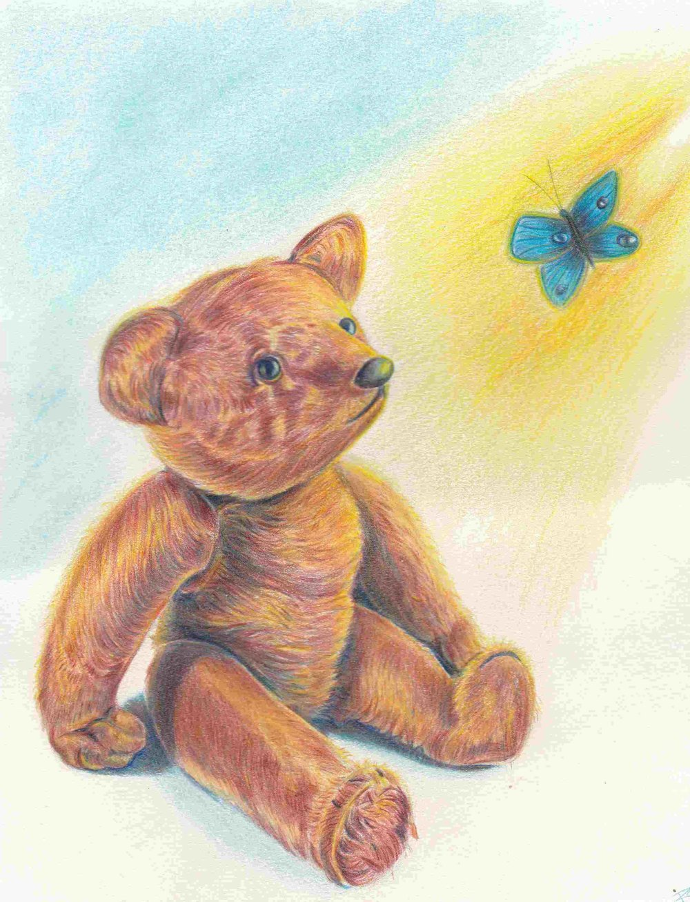 teddy bear drawing by Robert Lopez Revised -Teddy Bear drawing for fundraising event - Copy.jpg
