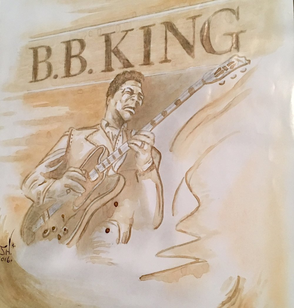 B.B. King Coffee Painting by Jeremy J. Hammill.jpg