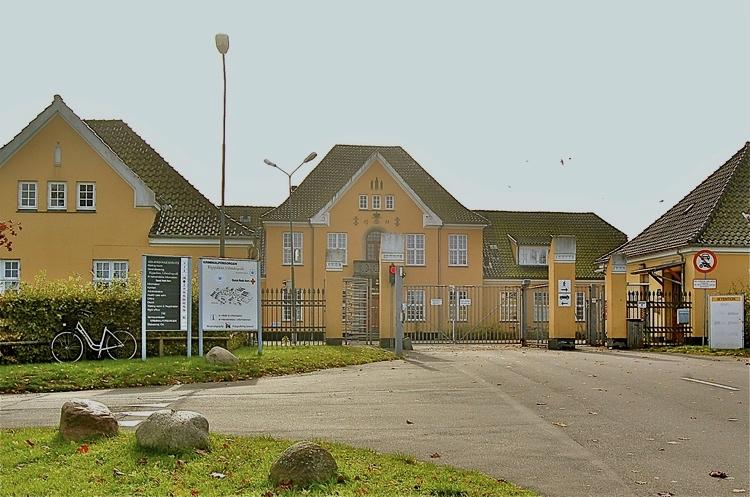 I CenterSandholm var der torsdag eftermiddag problemer med en asylansøger. Arkivfoto: AOB
